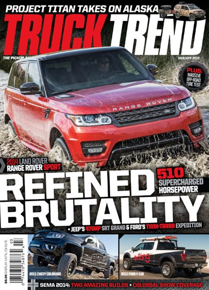 Truck Trend Cover - 3/1/2015