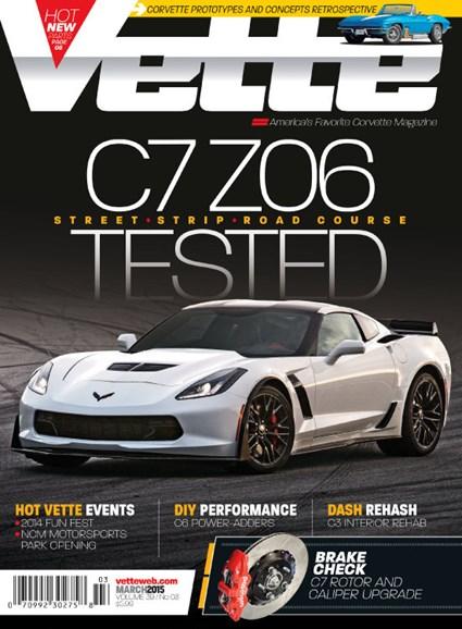 Vette Cover - 3/1/2015
