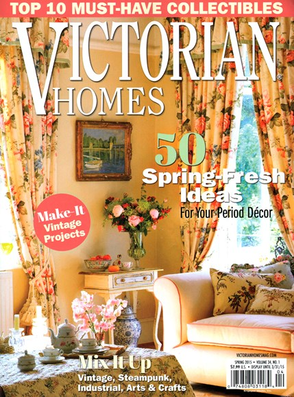 Victorian Homes Cover - 3/1/2015