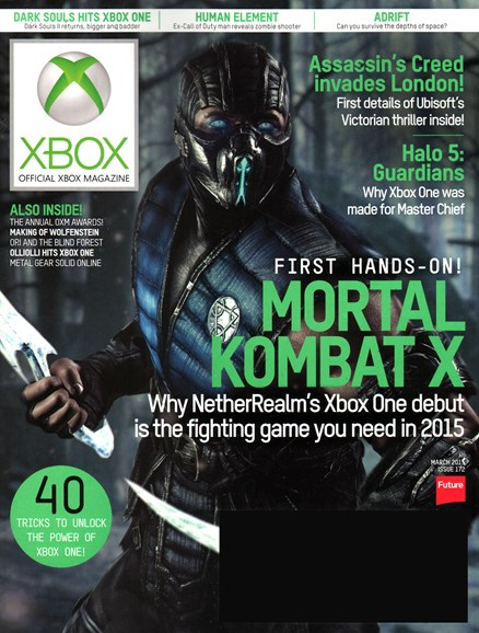 Official Xbox Magazine Cover - 3/1/2015