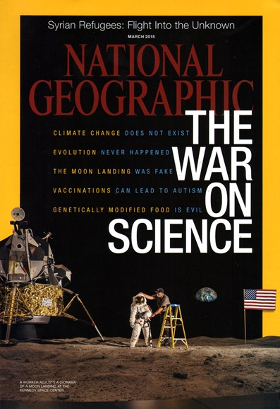 National Geographic Cover - 3/1/2015