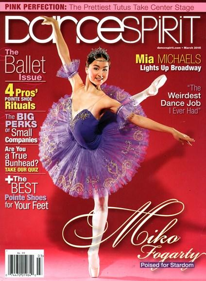 Dance Spirit Cover - 3/1/2015