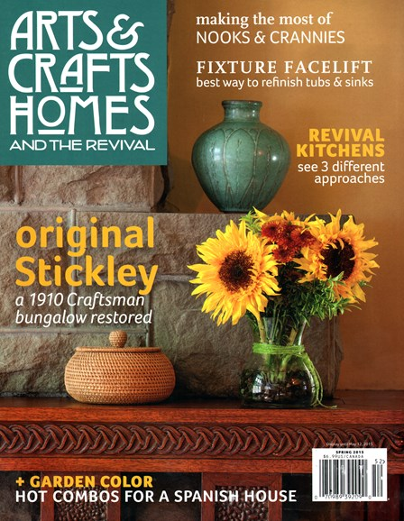 Arts & Crafts Homes Cover - 3/1/2015