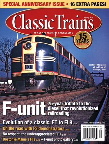 Classic Trains Cover - 3/1/2015