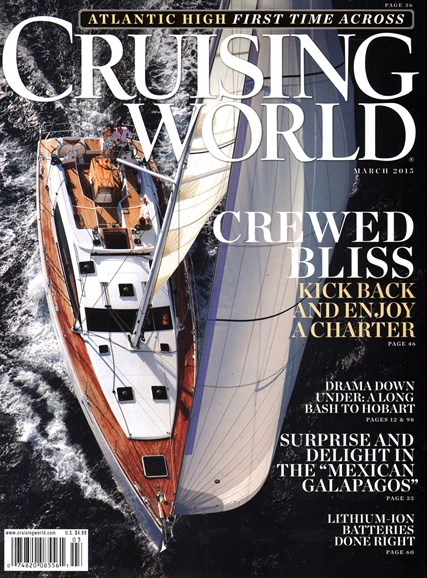 Cruising World Cover - 3/1/2015