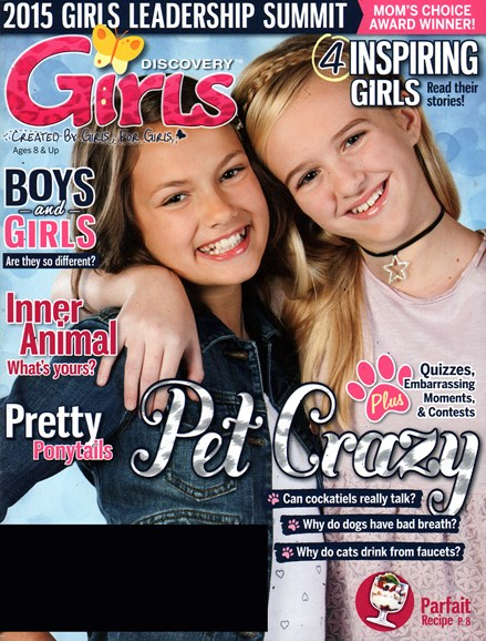 Discovery Girls Cover - 2/1/2015