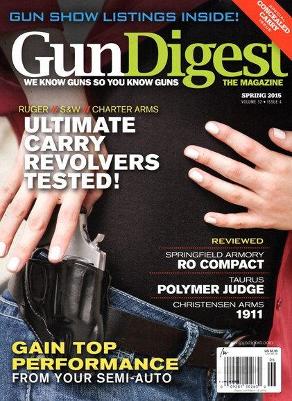 Gun Digest Cover - 3/1/2015