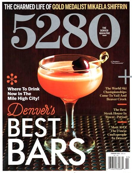 5280 Magazine Cover - 2/1/2015