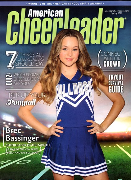 American Cheerleader Cover - 3/1/2015