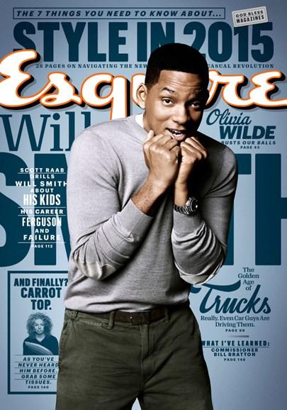 Esquire Cover - 3/1/2015