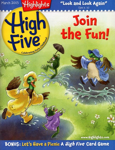 Highlights High Five Cover - 3/1/2015