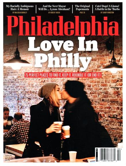 Philadelphia Magazine Cover - 2/1/2015