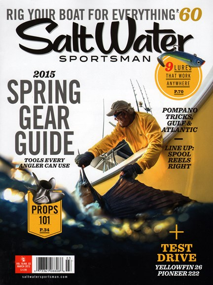 Salt Water Sportsman Cover - 3/1/2015