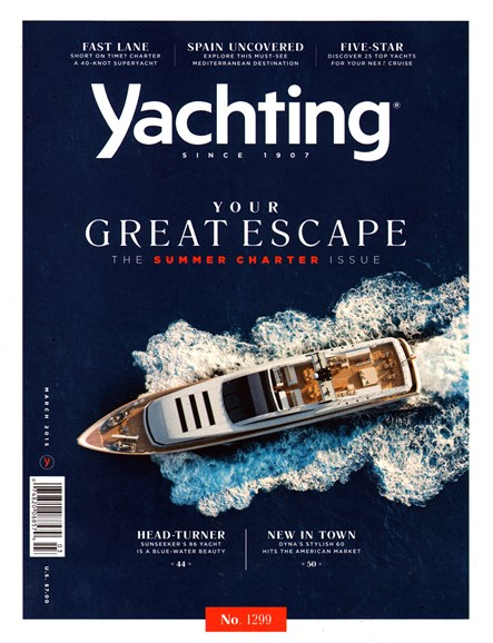 Yachting Cover - 3/1/2015