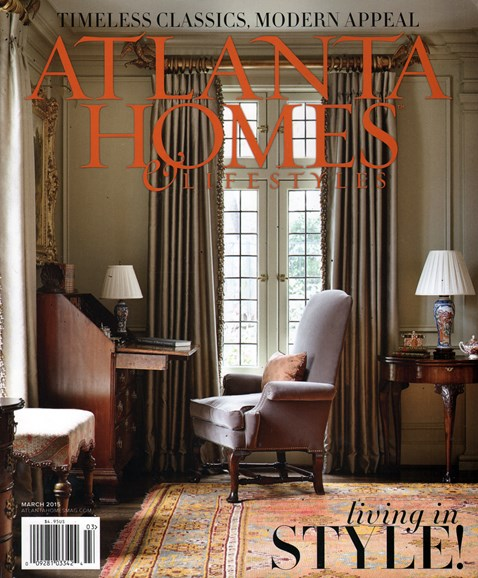Atlanta Homes & Lifestyles Cover - 3/1/2015