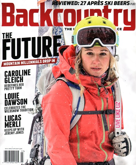 Backcountry Cover - 2/1/2015