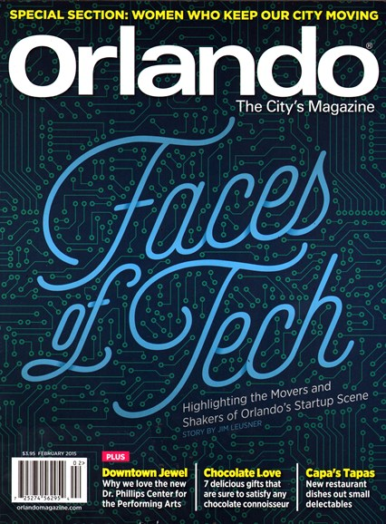 Orlando Magazine Cover - 2/1/2015