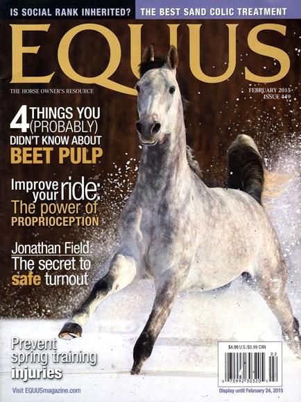 Equus Cover - 2/1/2015