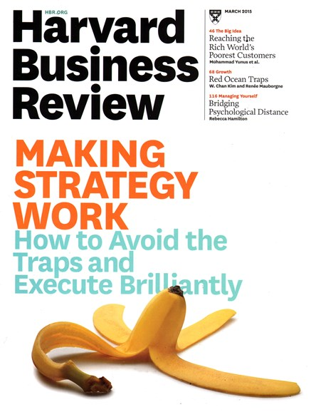 Harvard Business Review Cover - 3/1/2015