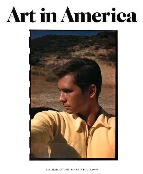 Art In America Cover - 2/1/2015