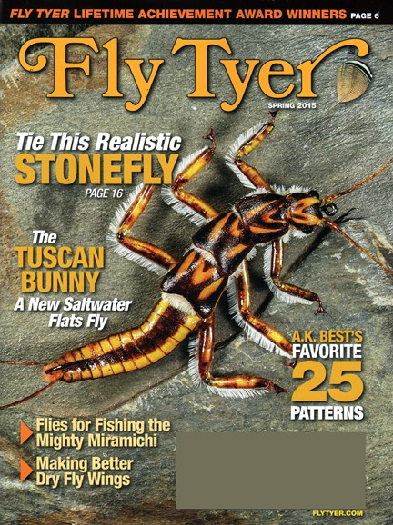 Fly Tyer Cover - 3/1/2015