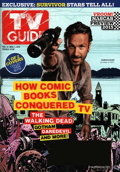 TV Guide Cover - 2/16/2015