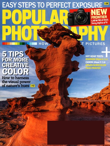 Popular Photography Cover - 3/1/2015