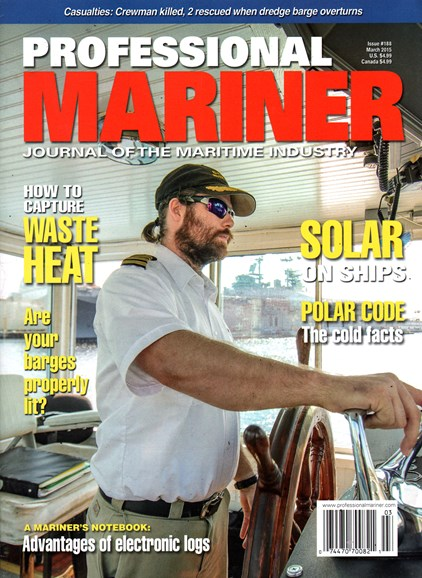 Professional Mariner Cover - 3/1/2015