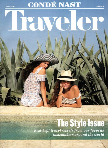Condé Nast Traveler Cover - 3/1/2015