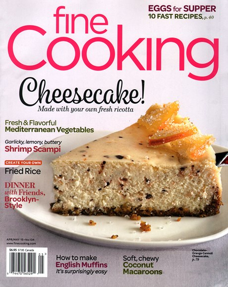 Fine Cooking Cover - 4/1/2015