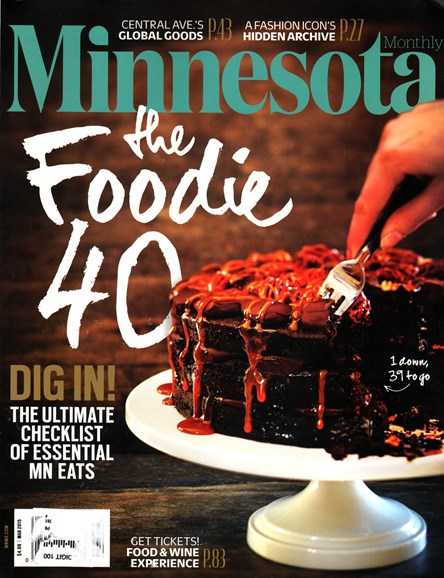 Minnesota Monthly Cover - 3/1/2015
