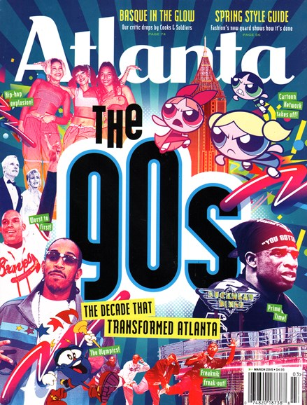 Atlanta Magazine Cover - 3/1/2015