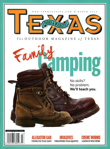 Texas Parks & Wildlife Cover - 3/1/2015