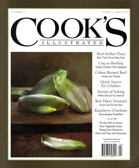 Cook's Illustrated Cover - 3/1/2015