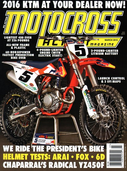 Motocross Action Cover - 3/1/2015
