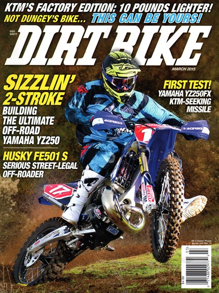 Dirt Bike Cover - 3/1/2015