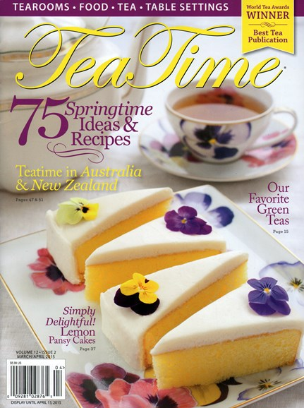 Tea Time Cover - 3/1/2015
