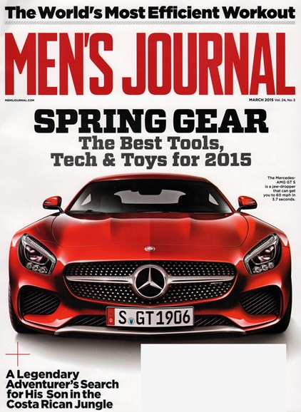 Men's Journal Cover - 3/1/2015