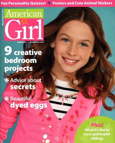 American Girl Cover - 3/1/2015