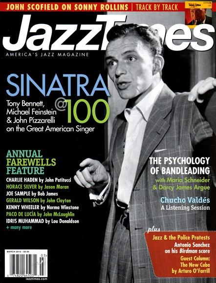 JazzTimes Cover - 3/1/2015