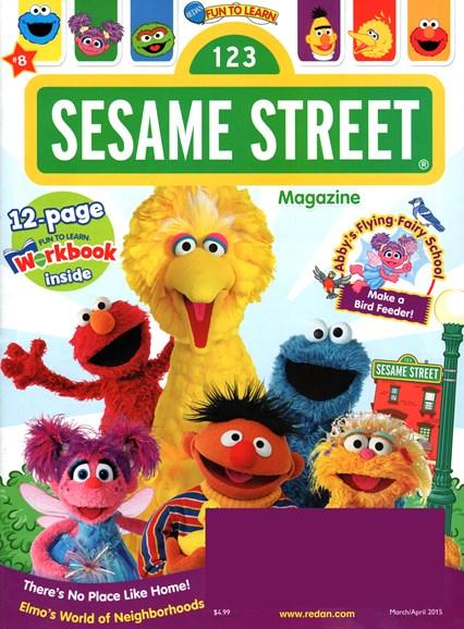 Sesame Street Cover - 3/1/2015