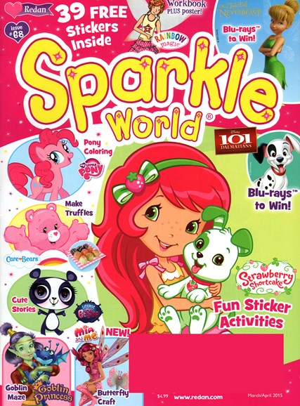 Sparkle World Cover - 3/1/2015