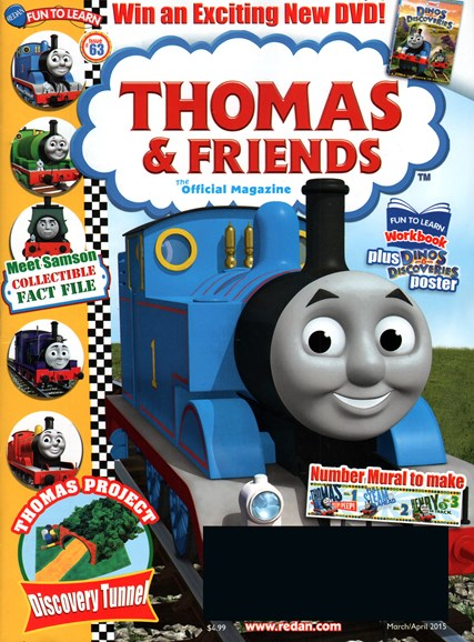 Thomas & Friends Cover - 3/1/2015