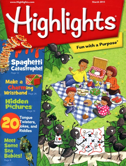 Highlights Cover - 3/1/2015
