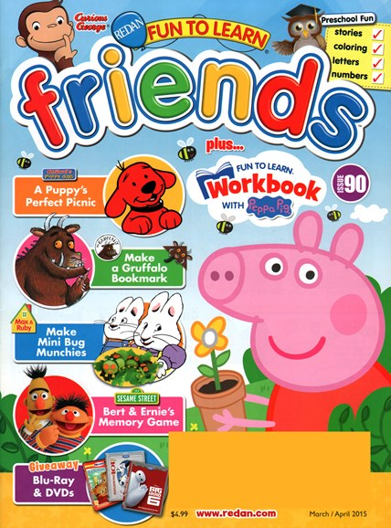 Preschool Friends Cover - 3/1/2015