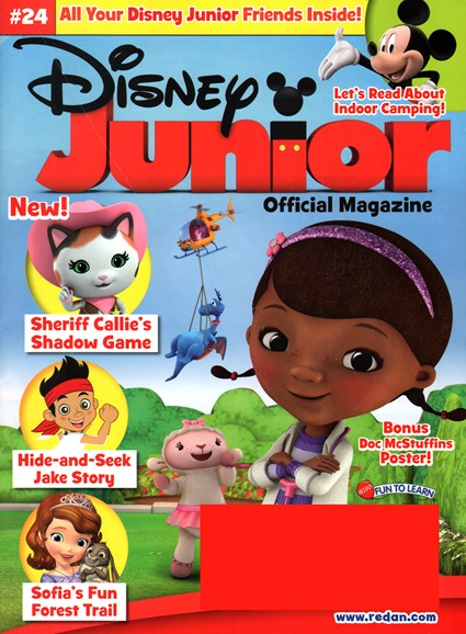 Disney Junior Cover - 3/1/2015