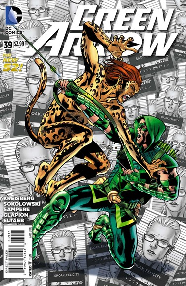 Green Arrow Cover - 4/1/2015
