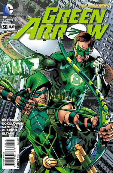 Green Arrow Cover - 3/1/2015