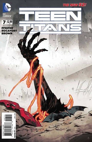 Teen Titans Cover - 4/1/2015