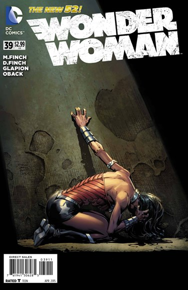Wonder Woman Cover - 4/1/2015